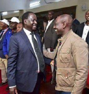 Raila and Ruto