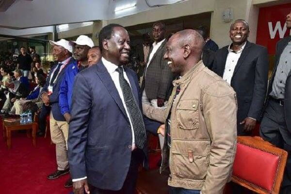 Raila and Ruto